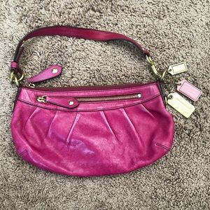 Coach pink Madison bag, great used condition!